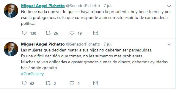Pichetto fake